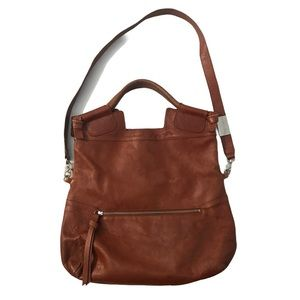 Foley + Corinna Mid City brown leather satchel